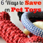 6 Ways to Save on Pet Toys
