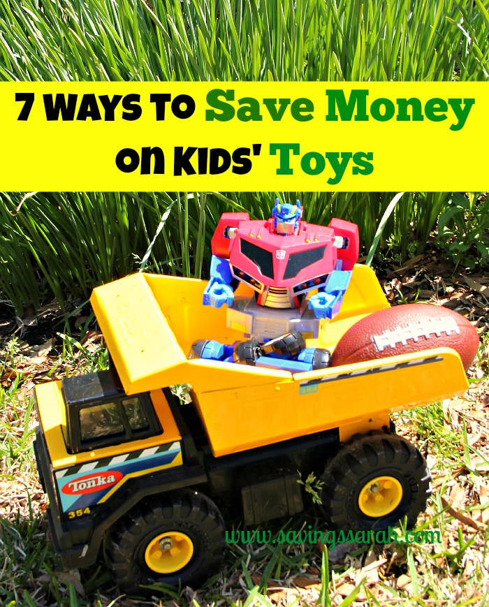 7 Ways to Save Money on Kid's Toys