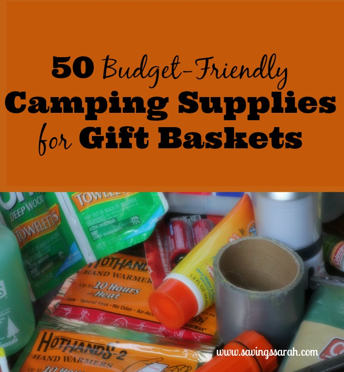 50 Budget Friendly Camping Supplies For Gift Baskets