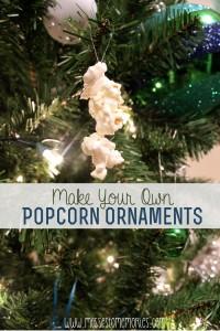 Popcorn Ornaments