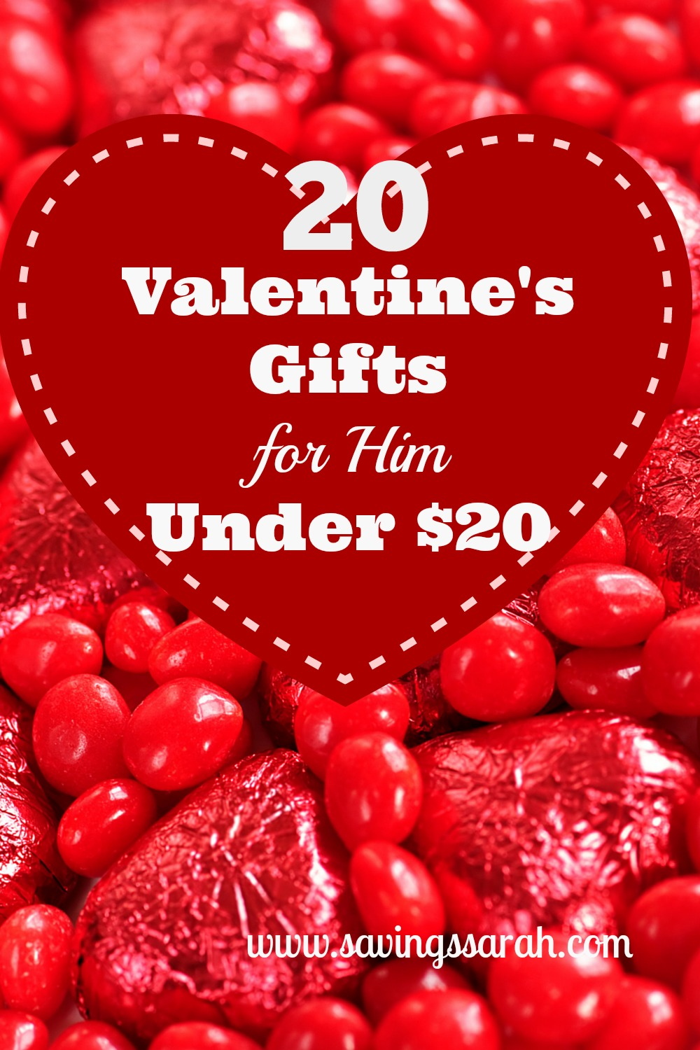 20 Valentine's Gifts for Him Under $20 - Earning and ...