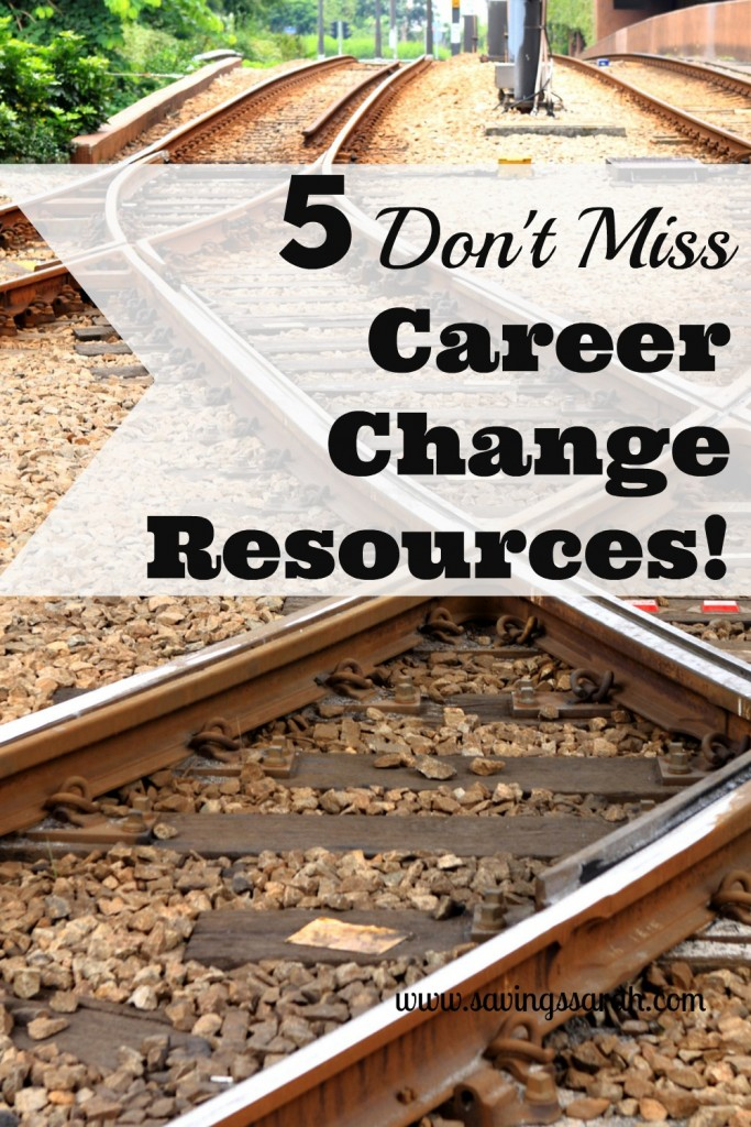 5 Don't Miss Career Change Resources