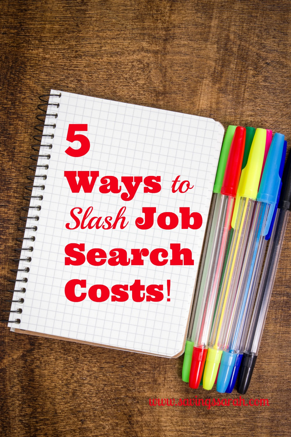 5 Wasy to Slash Job Search Costs