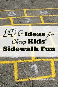 14 + Ideas for Cheap Kids' Summer Fun
