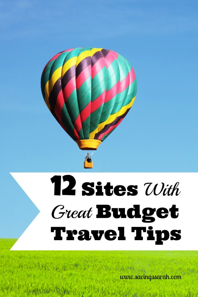 12 Sites with Great Budget Travel Tips