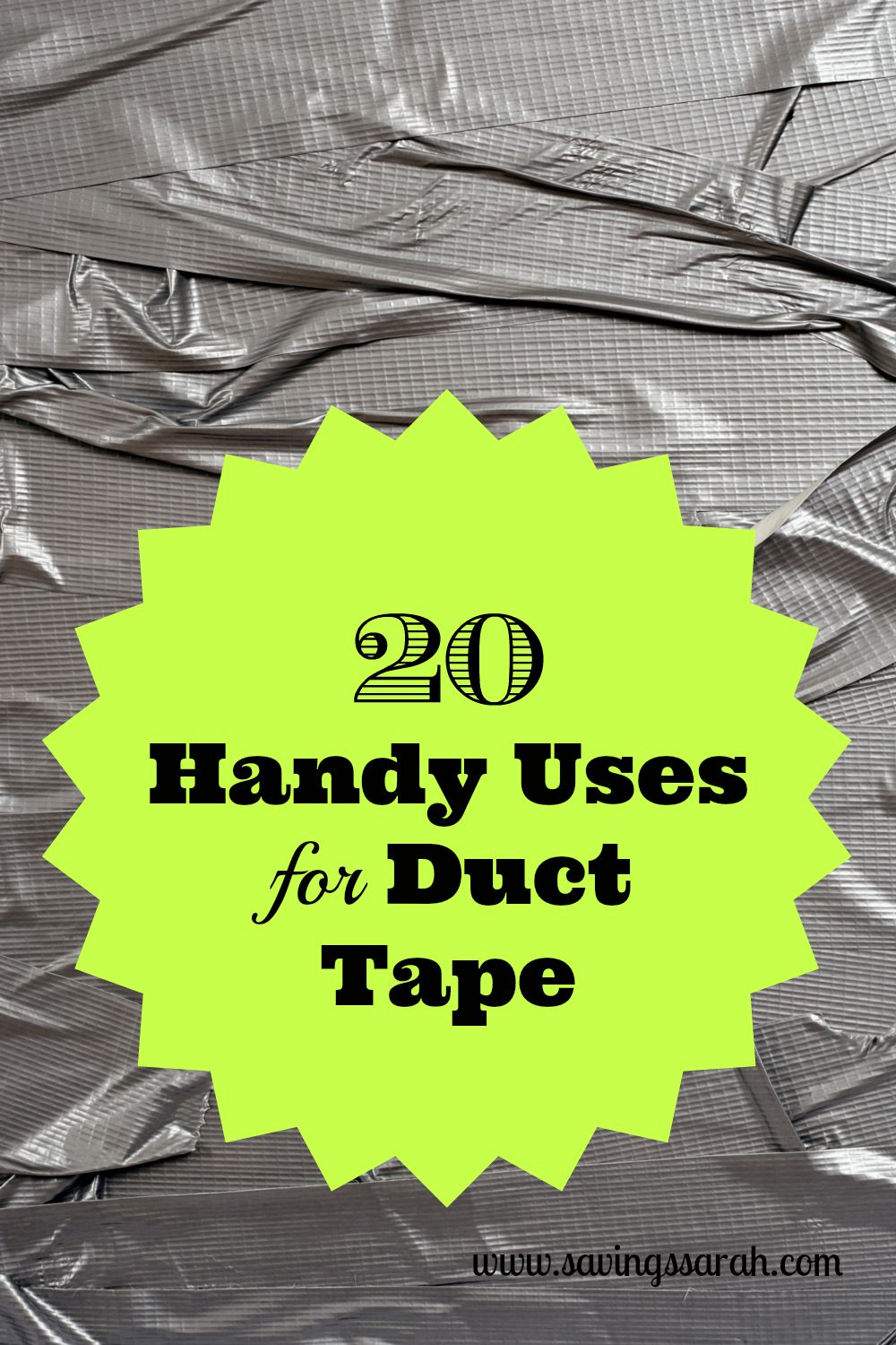 20 Handy Uses For Duct Tape
