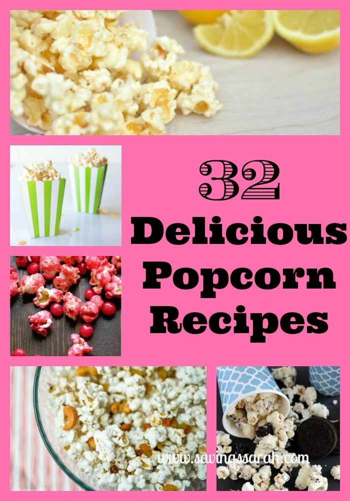 32 Delicious Popcorn Recipes