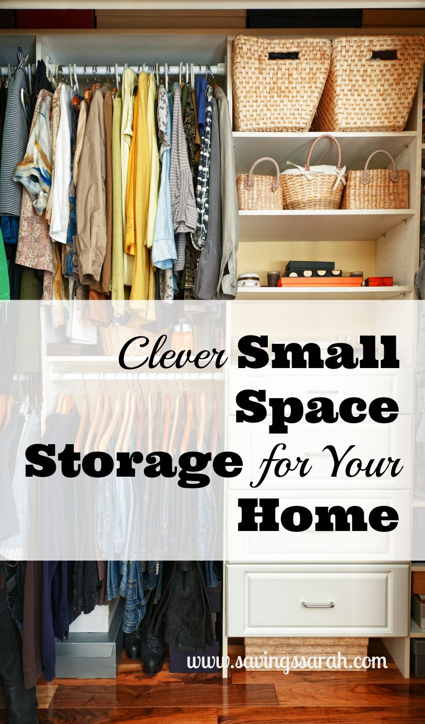 Clever small space storage in your home earning and saving with sarah - Storage solutions for small spaces cheap photos ...