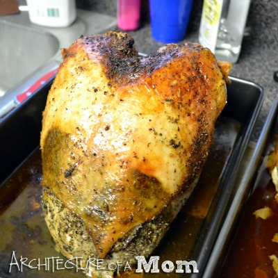 ... with this scrumptious Herb Roasted Turkey from Architecture of a Mom