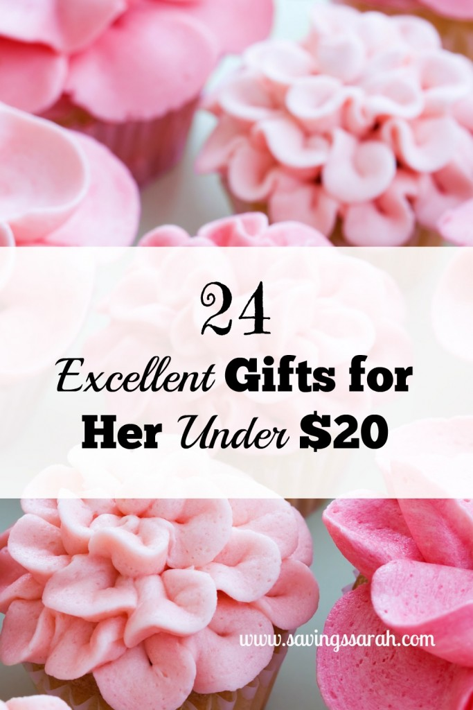 24 Excellent Gifts for Her Under $20
