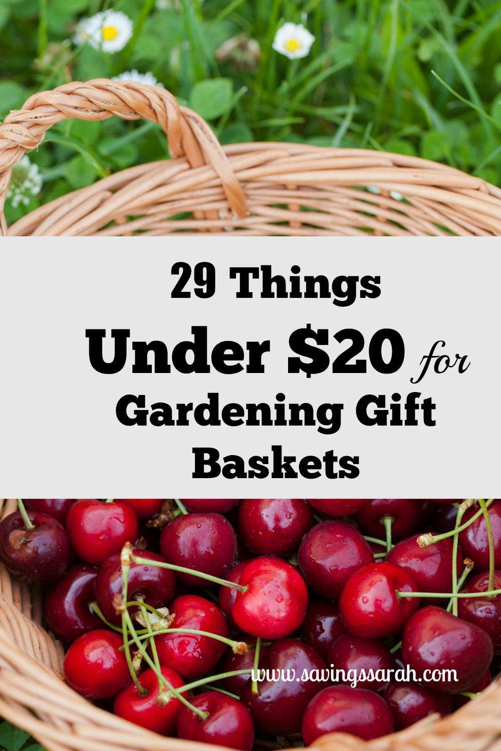 29 clever things under 20 for gardening gift baskets