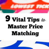 9 Vital Tips To Master Price Matching