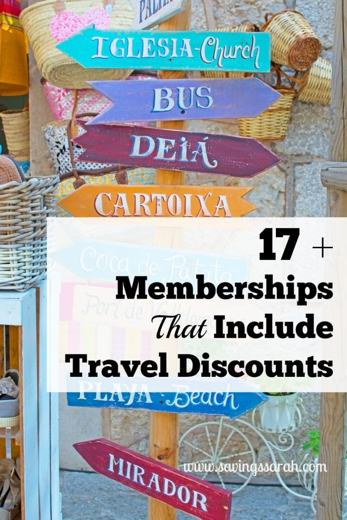 17 memberships that include travel discounts earning for Nmc national motor club