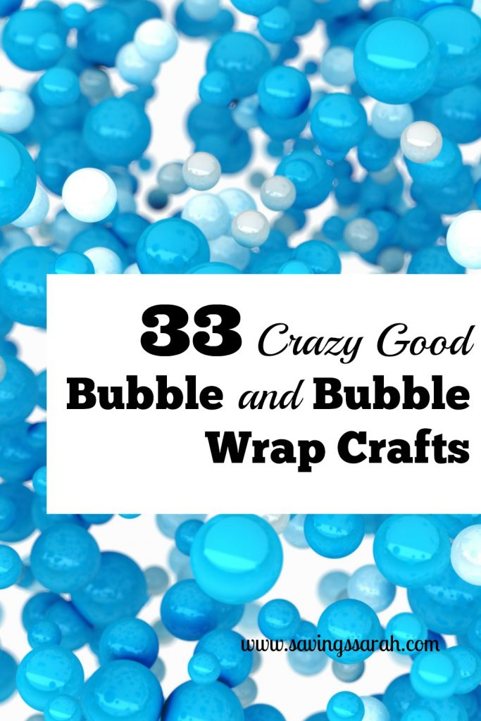 33 Crazy Good Bubble and Bubble Wrap Crafts