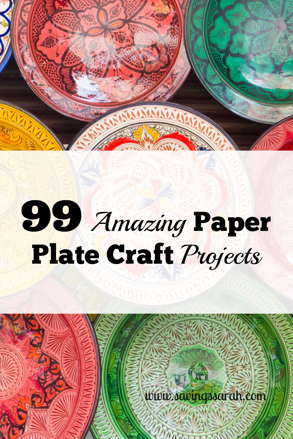 99 amazing paper plate craft projects earning and saving with sarah jeuxipadfo Image collections