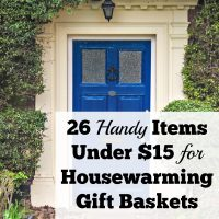 26 Handy Items Under $15 for Housewarming Gift Baskets