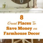 8 Great Places to Save Money on Farmhouse Decor
