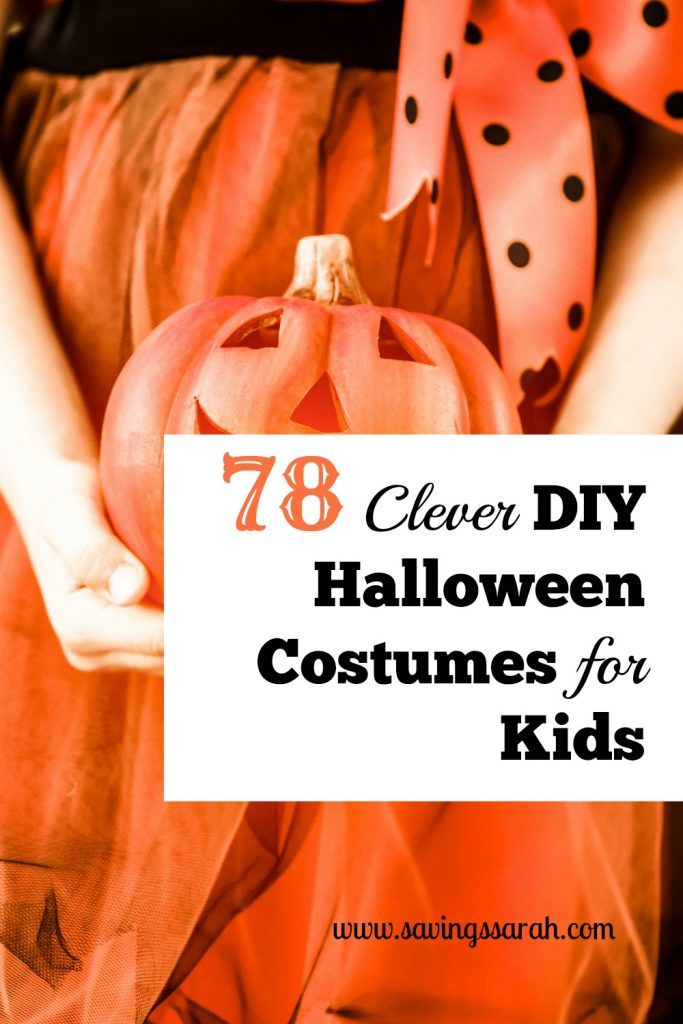 78 Clever DIY Halloween Costumes for Kids
