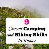 9 Essential Camping and Hiking Skills To Know