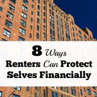 8 Ways For Renters To Protect Selves Financially