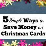 5 Ways to Save Money on Christmas Cards