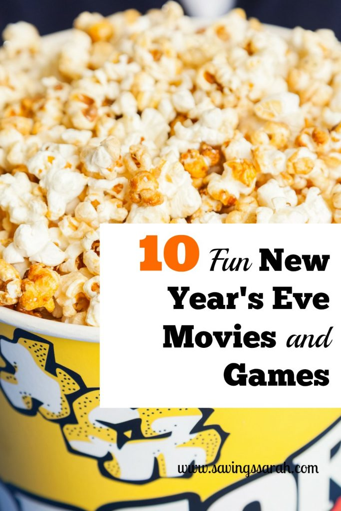 10 Fun New Year's Eve Movies and Games