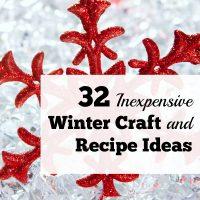 32 Creative, Inexpensive Winter Craft And Recipe Ideas