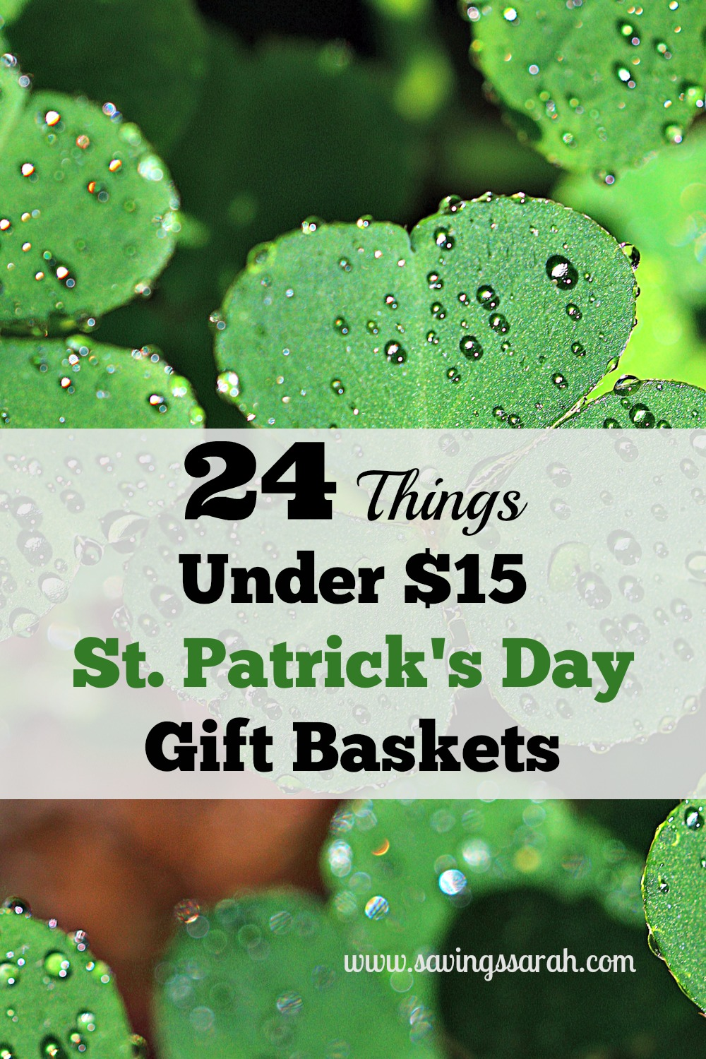 24 Things Under 15 For St Patricks Day Gift Baskets