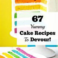67 Yummy Cake Recipes To Devour