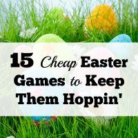 15 Inexpensive Easter Games To Keep Them Hoppin'