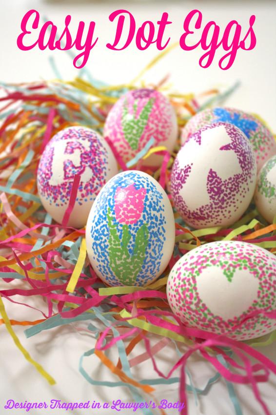 Easy Dot Eggs