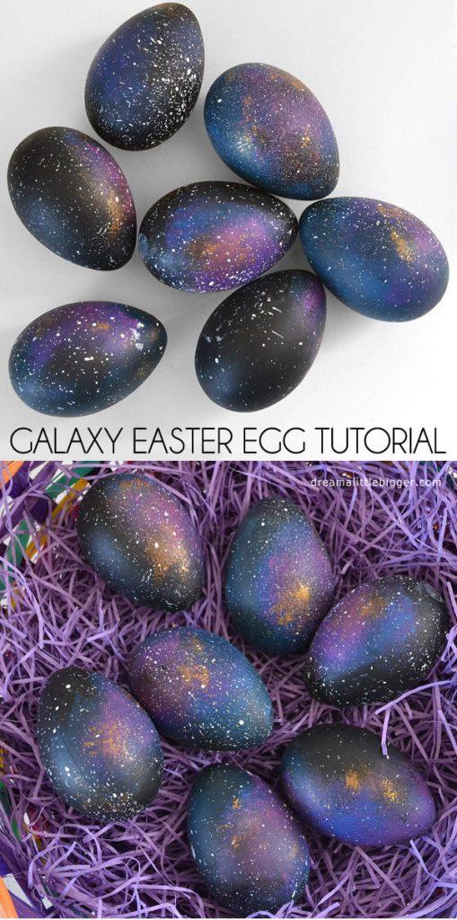 Galaxy Easter Eggs