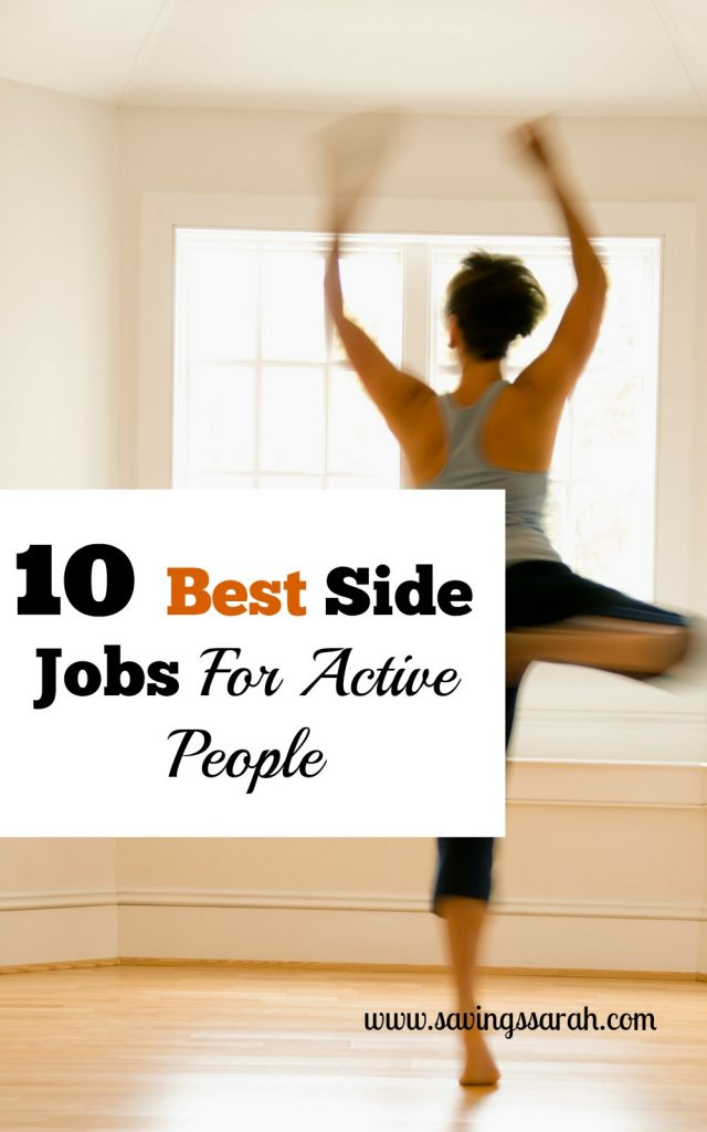 10 Best Side Jobs For Active People
