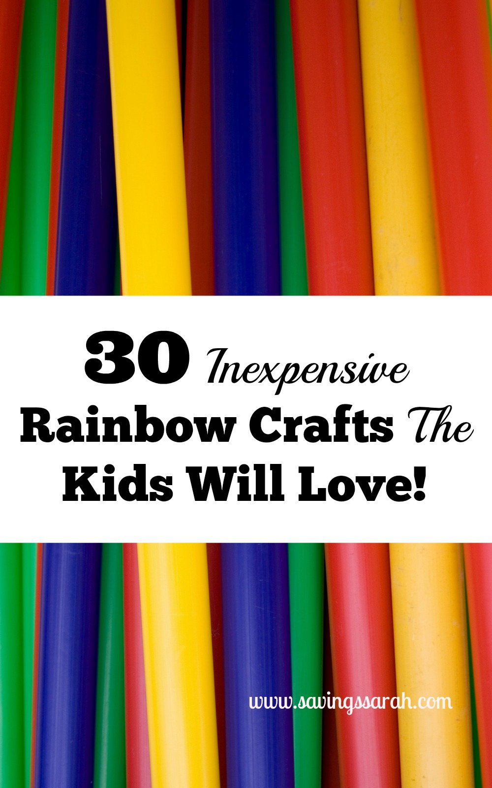 30 Easy Nail Designs For Beginners: 30 Easy, Inexpensive Rainbow Crafts The Kids Will Love