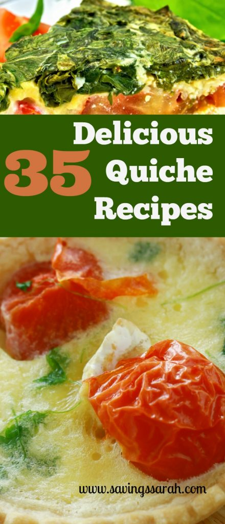 35 Delicious Quiche Recipes To Try