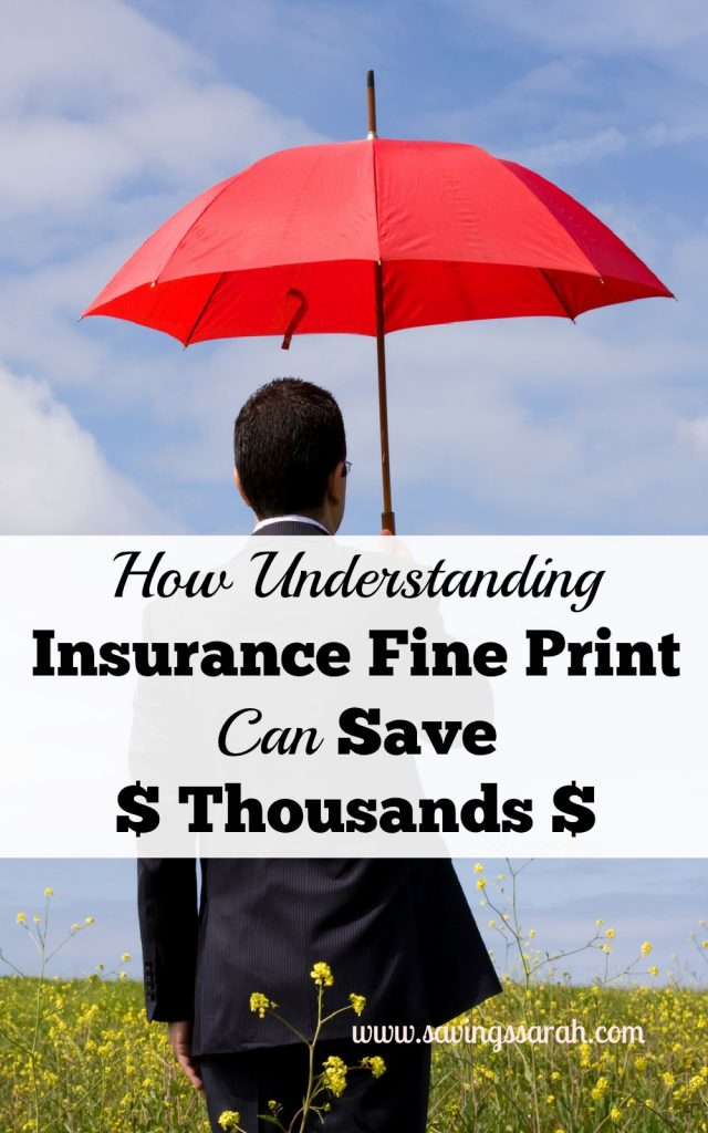 How Understanding Insurance Fine Print Can Save You Thousands
