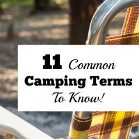 11 Common Camping Terms To Know