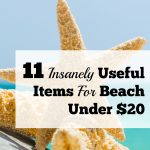 11 Insanely Useful Items For Beach Under $20