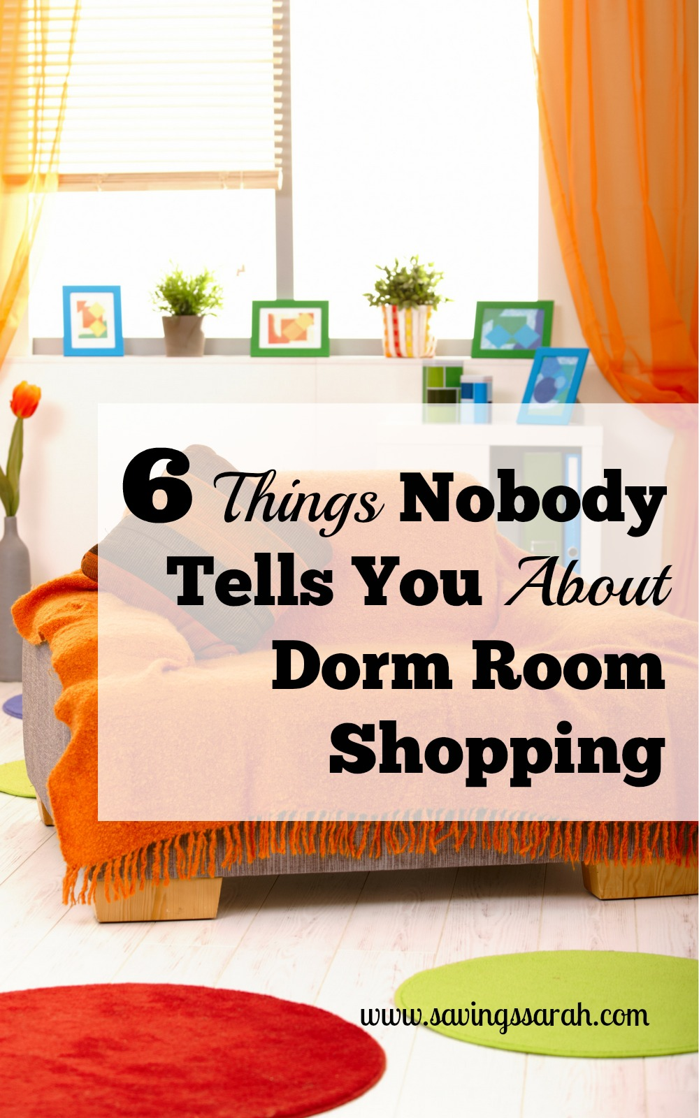 6 Things Nobody Tells You About Dorm Room Shopping Part 83