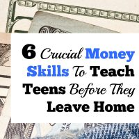 6 Crucial Money Skills To Teach Teens Before They Leave Home