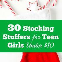 Stocking Stuffers For Teen Girls Under $10