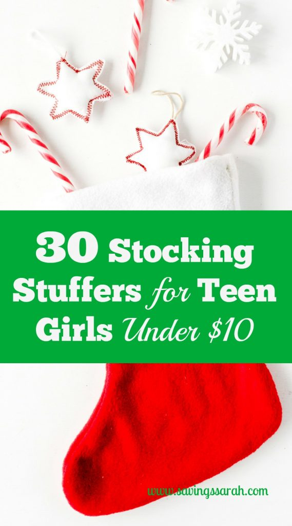 30 Stocking Stuffers For Teen Girls Under $10