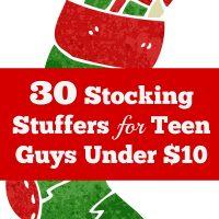 30 Stocking Stuffers For Teen Guys Under $10