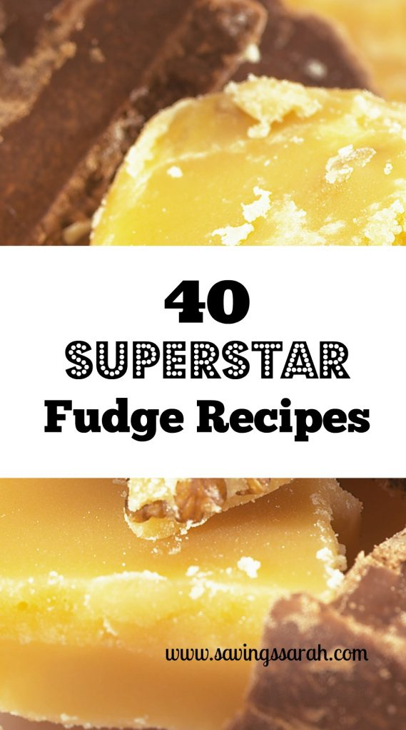 40 Superstar Fudge Recipes