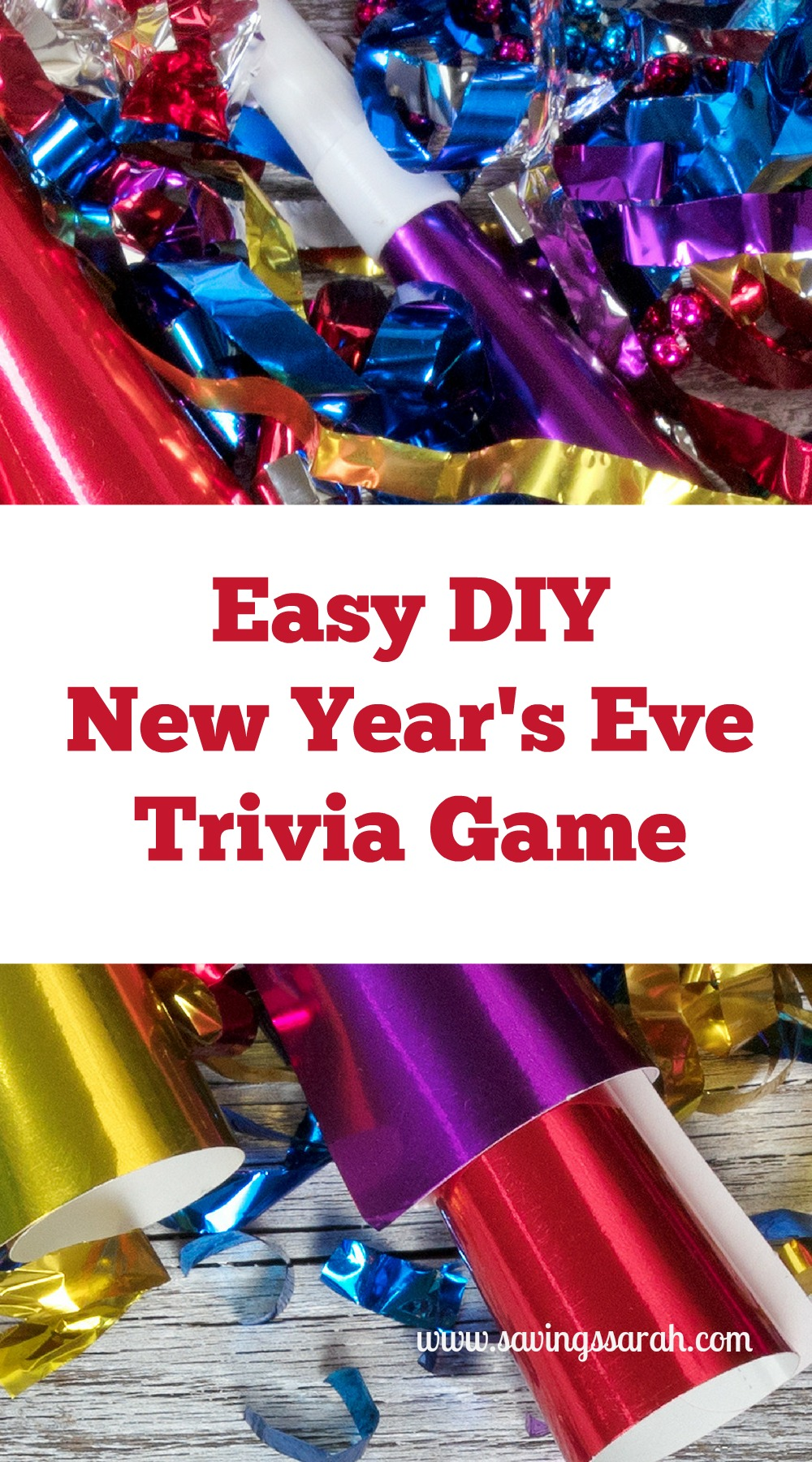 DIY New Year's Eve Party Trivia Game - Earning and Saving ...