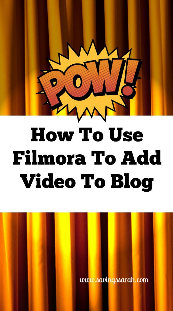 How To Use Filmora To Add Video To Blog
