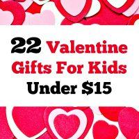22 Valentine Gifts For Kids Under $15
