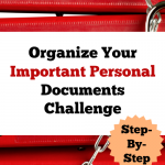 Organize Your Important Documents Challenge